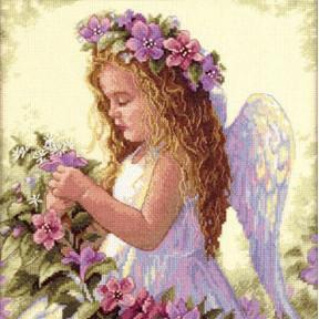 Набор для вышивания  Dimensions 35229 Passion Flower Angel