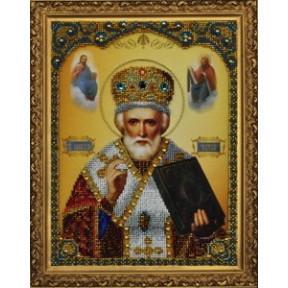 Набор для вышивания Картины Бисером Р-182 Икона святителя Николая