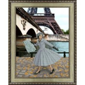 """Набор для вышивки крестом КиТ 31013 """"Опять в Париже листопад"""""""