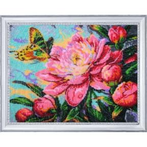 Набор для вышивания бисером Butterfly 243 Аромат пиона