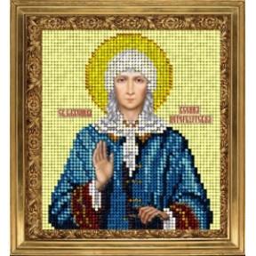 Набор для вышивания бисером КиТ 60715 Св Ксения фото