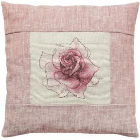 Набор для вышивки подушки Luca-S PB113 Роза