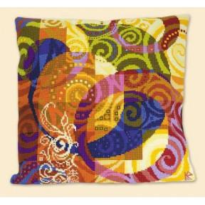Набор для вышивки Риолис 1308 Подушка Настроение фото