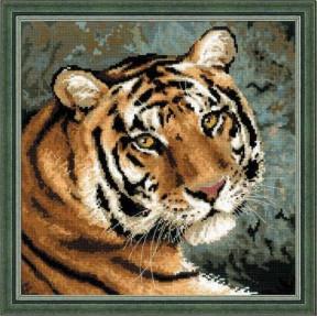 Набор для вышивки Риолис 1282 Амурский тигр