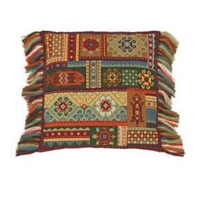 Набор для вышивки крестом Риолис 1483 Подушка Терра фото