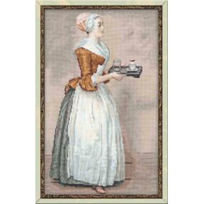 Набор для вышивки крестом Риолис 100/023 Шоколадница фото