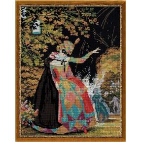 Набор для вышивки крестом Риолис 100/026 Коломбина фото