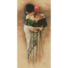 Набор для вышивки крестом Dimensions 70-35331 The Rose фото