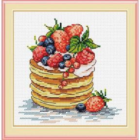Набор для вышивки крестом МП Студия М-088 К завтраку