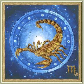 Набор для вышивки Золотое Руно РТ-056 Скорпион фото