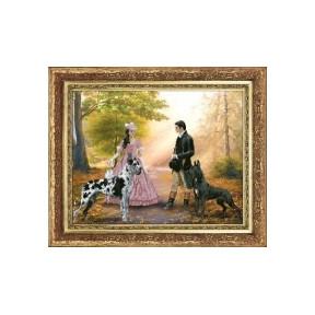 Набор для вышивания КиТ 10313 Закружилась листва золотая фото