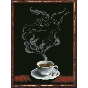 Набор для вышивания КиТ 30413 Кофейная фантазия - Телец 1 фото