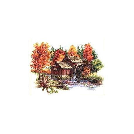 Набор для вышивания Dimensions 35199 Glory of Autumn фото