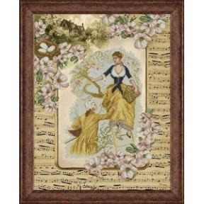 Набор для вышивки крестом КиТ 80714 Деревенские истории 1 фото