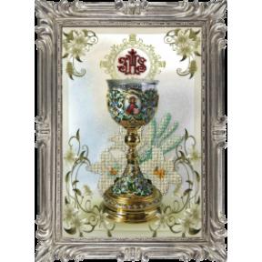 Набор для вышивки крестом КиТ 30212 Пасхальная чаша 3 фото