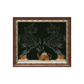 Набор для вышивки крестом КиТ 20713 Чайная фантазия - балет 1