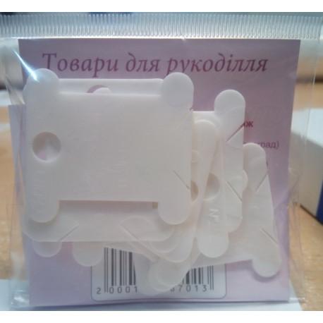 Бобины пластиковые для мулине ВДВ-10 фото