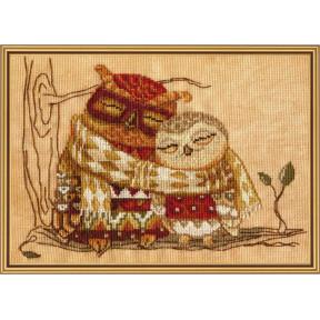 Набор для вышивания крестом  Нова Слобода СР-4221 Семейное тепло