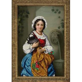 Набор для вышивания бисером КиТ 50415 Девушка с кувшином фото