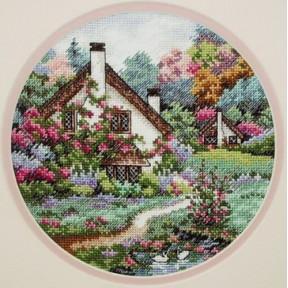 Набор для вышивания крестом Classic Design 4373 Домик в саду