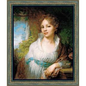 Набор для вышивки крестом Риолис 100/048 Портрет М.И.Лопухиной