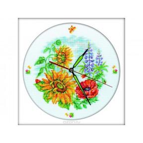 Набор для вышивки крестиком RTO M40007 Цветочные часы фото