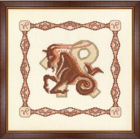 Набор для вышивки крестом Золотое Руно Г-001 Козерог фото