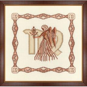 Набор для вышивки крестом Золотое Руно Г-009 Дева фото