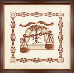 Набор для вышивки крестом Золотое Руно Г-010 Весы фото