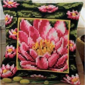 Набор для вышивки подушки Vervaco 1200/769 Лилия фото