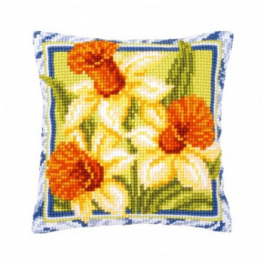 Набор для вышивки подушки Vervaсo PN-0001126 Три нарциса фото