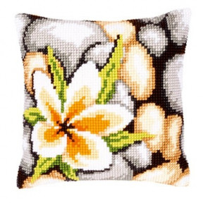 Набор для вышивки подушки Vervaсo PN-0143706 Камни фото