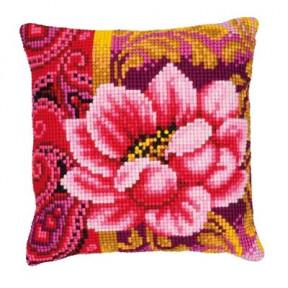 Набор для вышивки подушки Vervaсo PN-0008498 Розовая красота