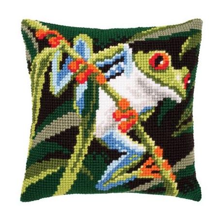 Набор для вышивки подушки Vervaсo PN-0145157 Красноглазая