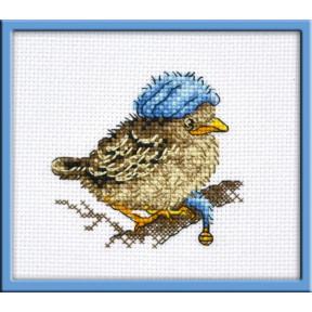Набор для вышивки крестом Овен 947 Птенчик Бубенчик