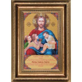 Набор для вышивания Чарівна Мить Б-1214 Икона Благословение
