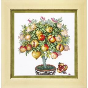 Набор для вышивания крестом Чарівна Мить ВТ-1015 Плоды