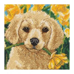 Набор для вышивания гобелена Dimensions 07231 Puppy Mischief