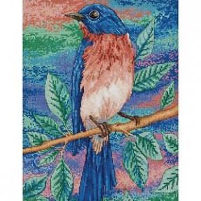 Набор для вышивания Bucilla 45954 Blue Bird on a Branch фото