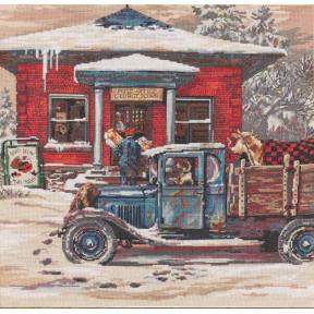 Набор для вышивания Bucilla 45964 Rural Post Office at