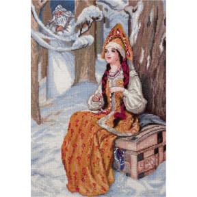 Набор для вышивки крестом Panna ВС-1537 Морозко
