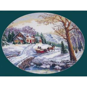 Набор для вышивания крестом Classic Design 4379 Зимняя сказка