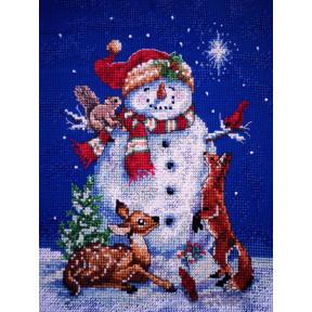 Набор для вышивания крестом Classic Design 4383 Снеговик фото