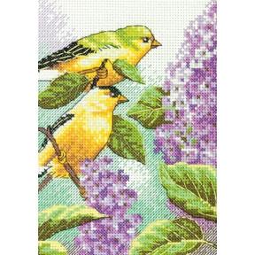 Набор для вышивки крестом Dimensions 70-65153 Goldfinch and