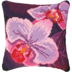 Набор для вышивки подушки Чарівна Мить РТ-181 Орхидея фото