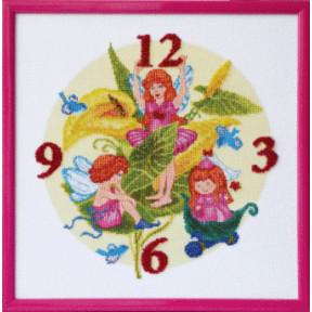Набор для вышивки крестом Чарівна Мить М-84 Цветочные эльфы фото