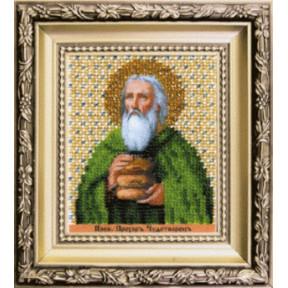 Набор для вышивания Чарівна Мить Б-1221 Икона преподобный