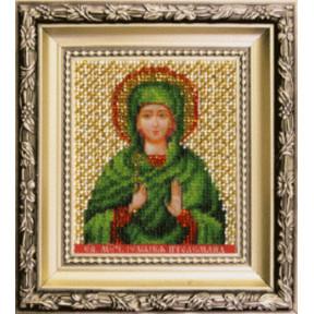 Набор для вышивания Чарівна Мить Б-1222 Икона святая мученица