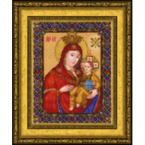 Набор для вышивания Чарівна Мить Б-1224 Икона Божьей Матери