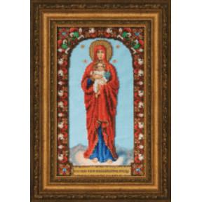 Набор для вышивания Чарівна Мить Б-1227 Икона Божьей Матери